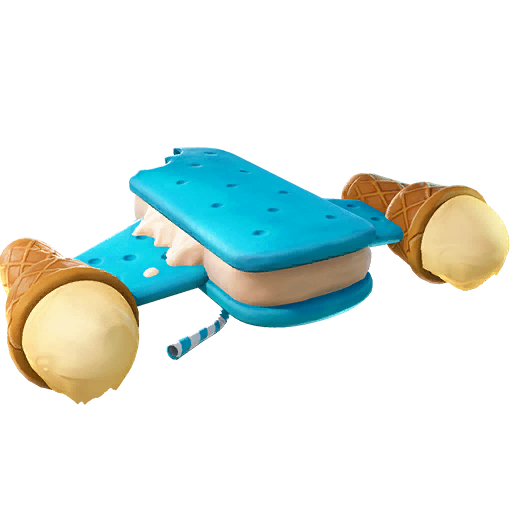 Fortnite Ice Cream Cruiser glider