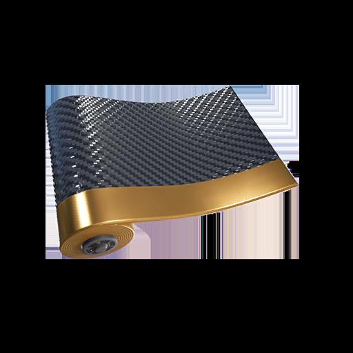 Fortnite Carbon & Gold wrap