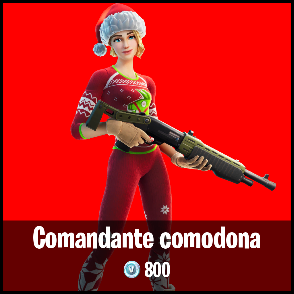 Comandante comodona