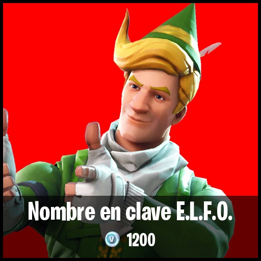 Nombre en clave E.L.F.O.