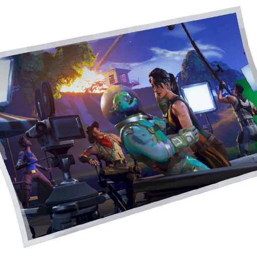 Fortnite Quiet On The Set! loadingscreen
