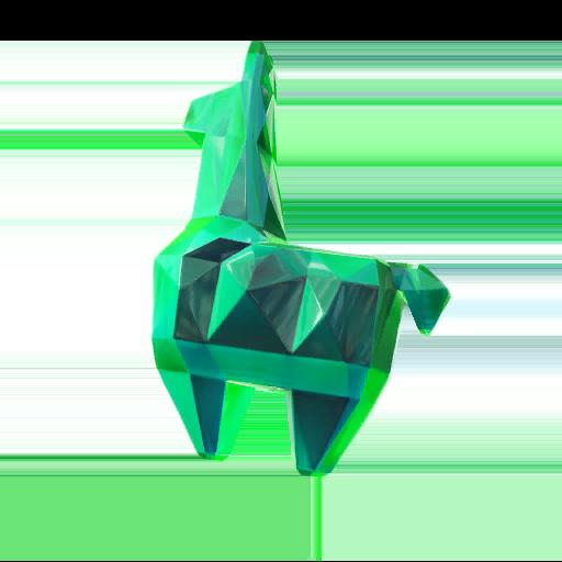 Llama de cristal