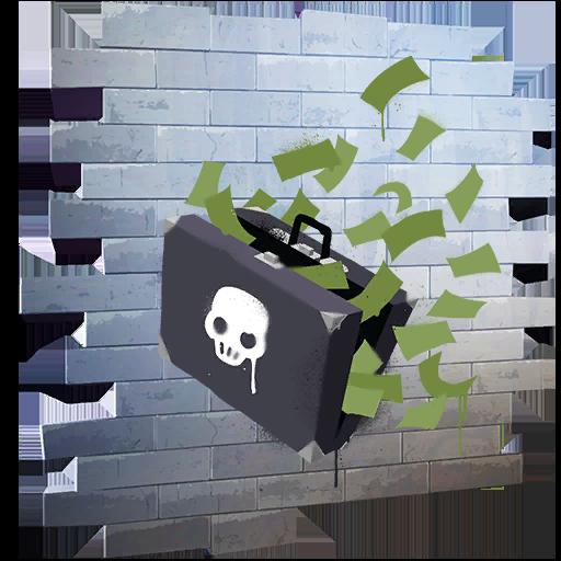 Fortnite Cash Grab spray