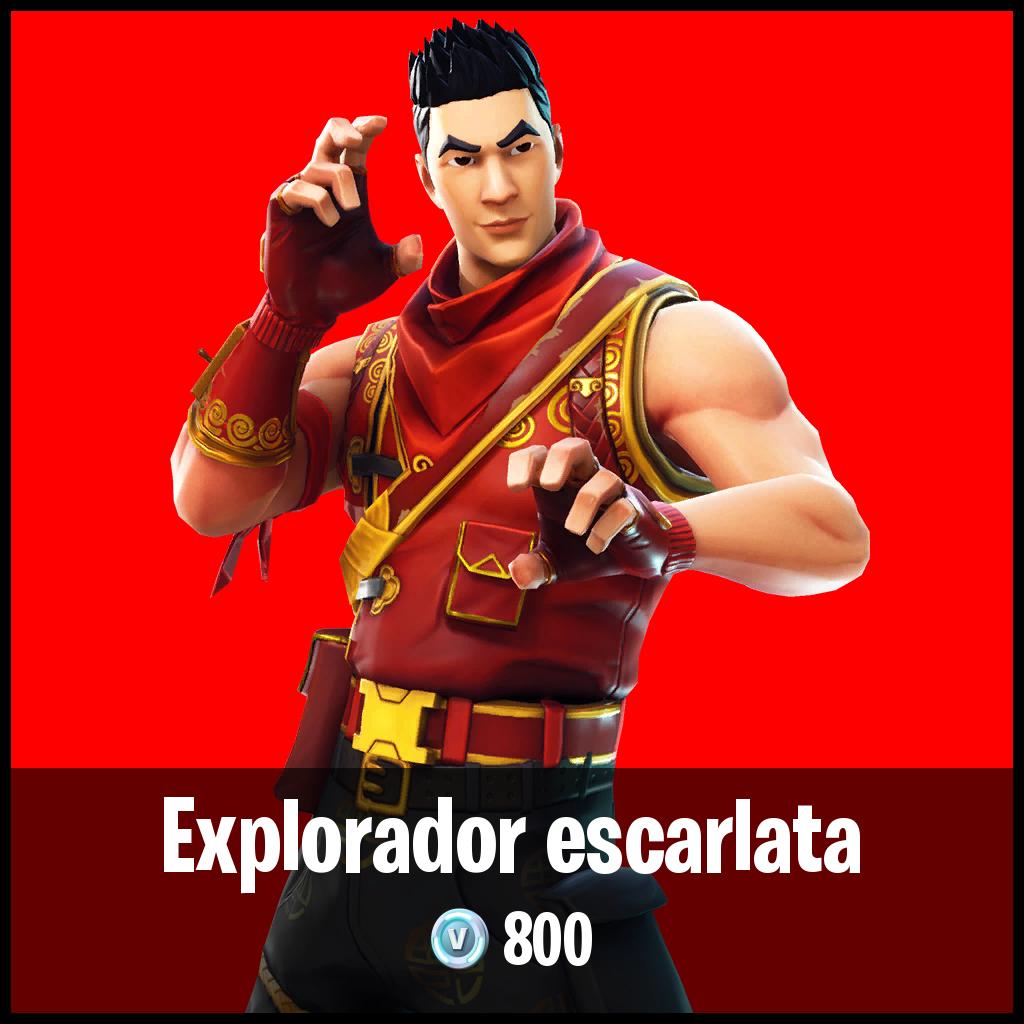 Explorador escarlata