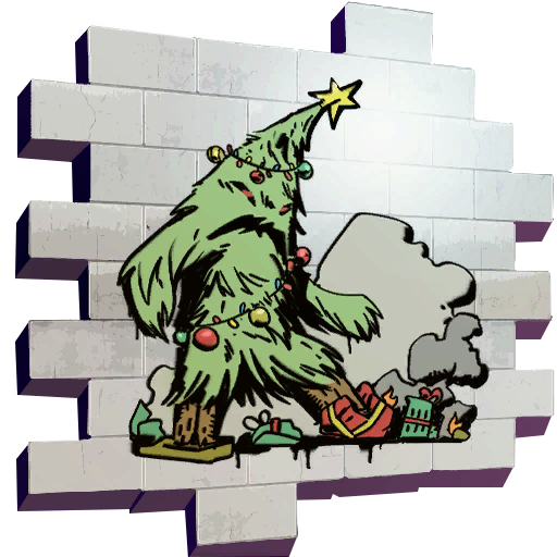 Fortnite Grumpy Tree spray