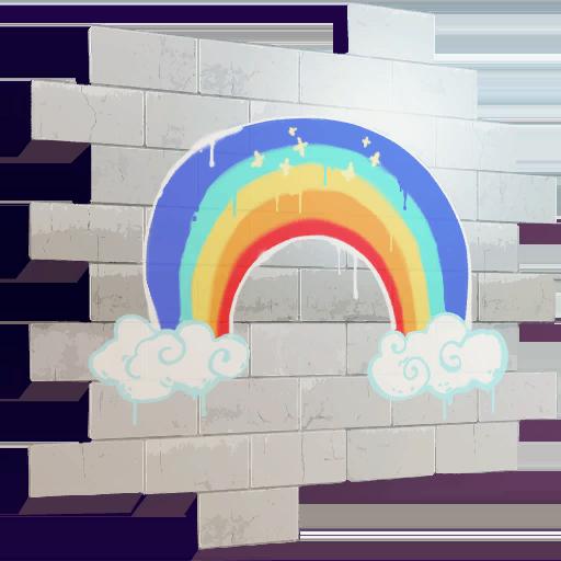Fortnite Rainbow spray