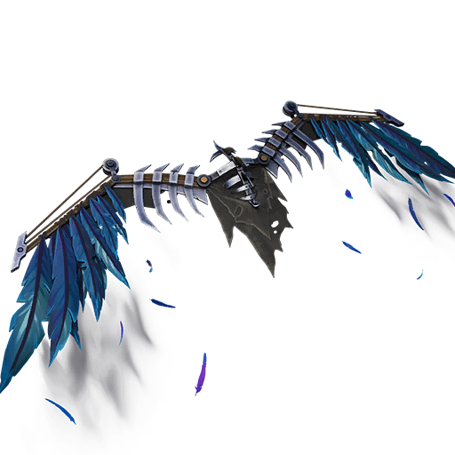 Fortnite Weeping Crow Glider Transparent Image