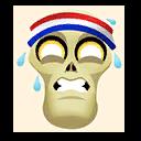 Fortnite Sweaty emoji