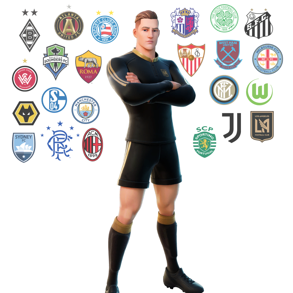 Fortnite Midfield Master Outfit Skin