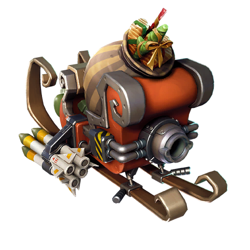 Fortnite Tactical Sleigh glider