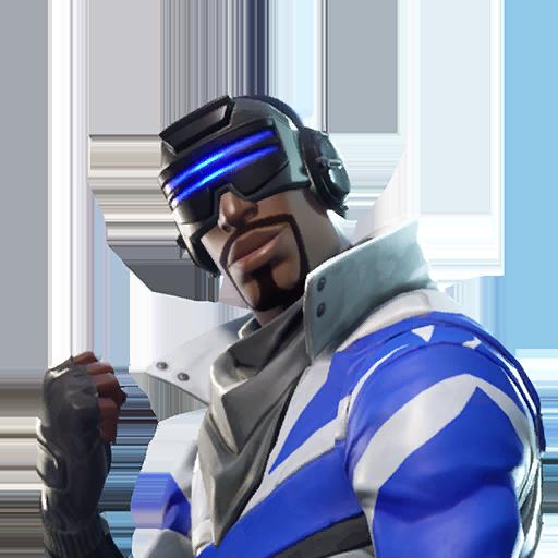 Fortnite Blue Striker outfit