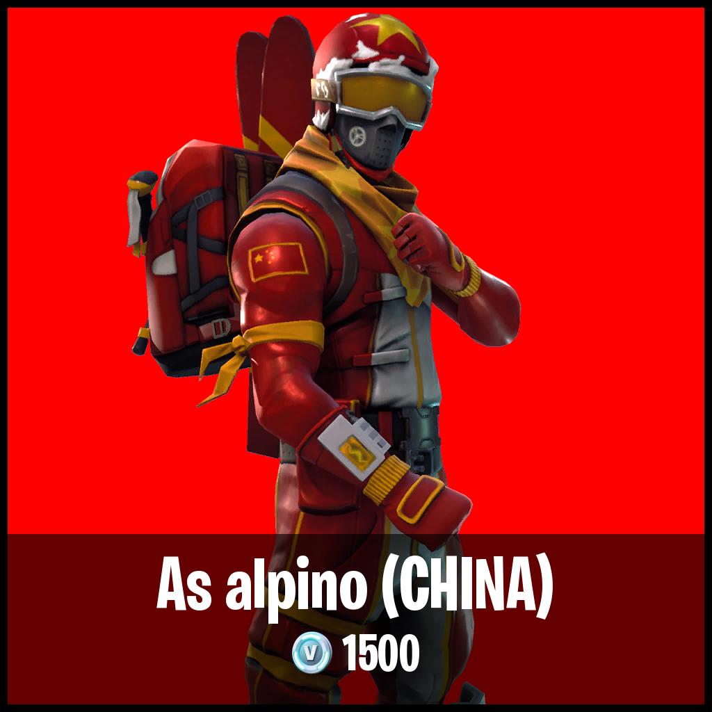 As alpino (CHINA)