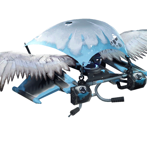 Fortnite Frozen Feathers glider