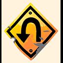 Fortnite U-Turn emoji