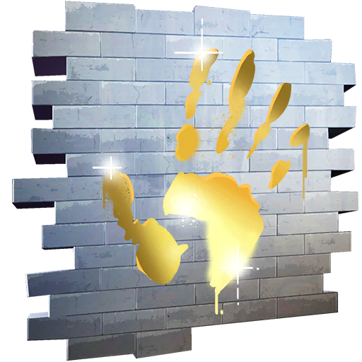 Fortnite Gold Touch spray