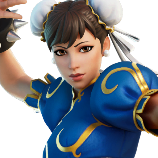 Fortnite Chun-Li outfit