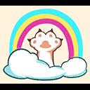 Fortnite Cloud Cat emoji