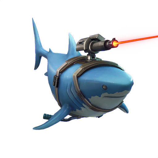 Fortnite Laser Chomp glider