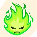 Fortnite Fiery emoji