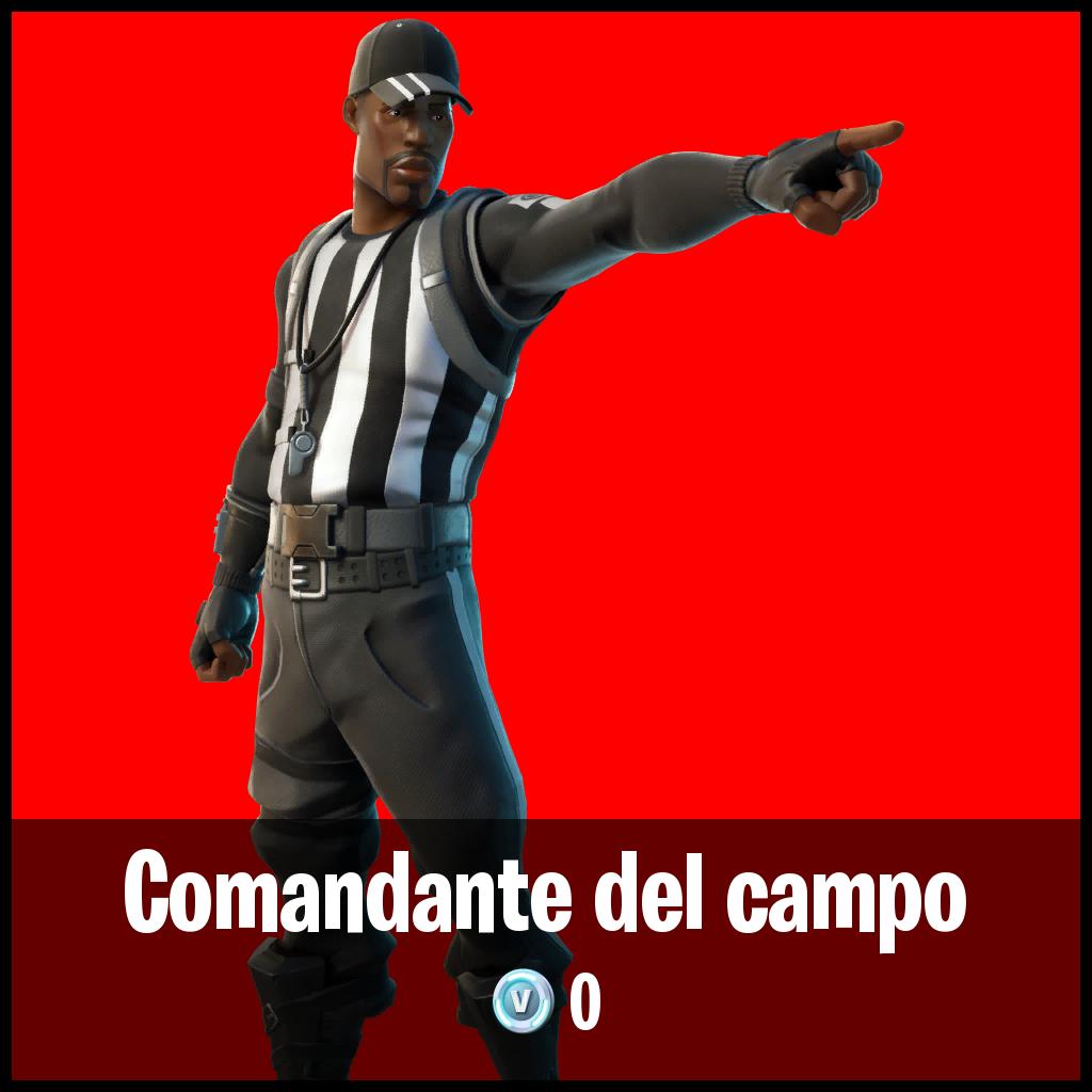 Comandante del campo