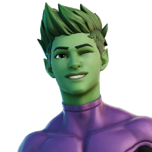 Fortnite Beast Boy Outfit Transparent Image