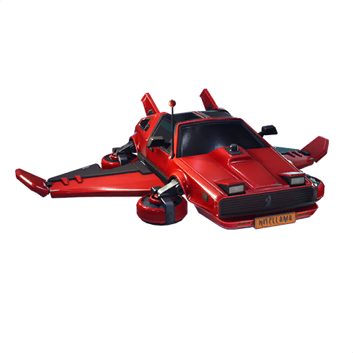 Fortnite Hot Ride glider