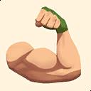 Fortnite Flex emoji