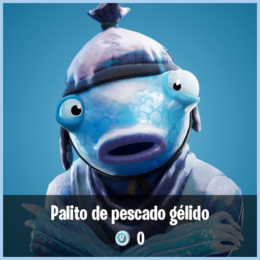Palito de pescado gélido