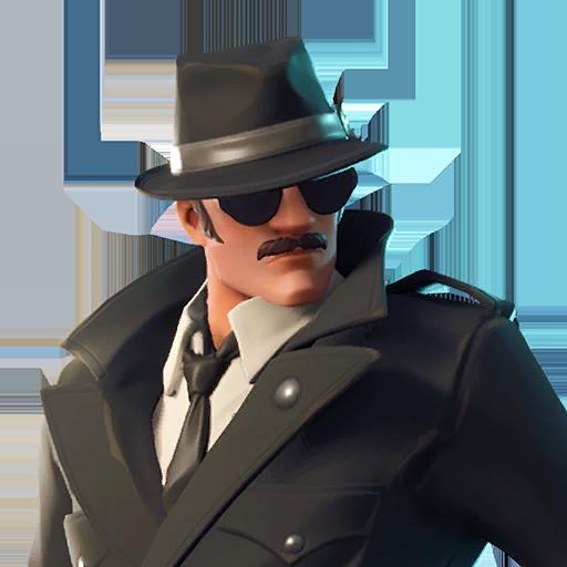 Fortnite Noir outfit
