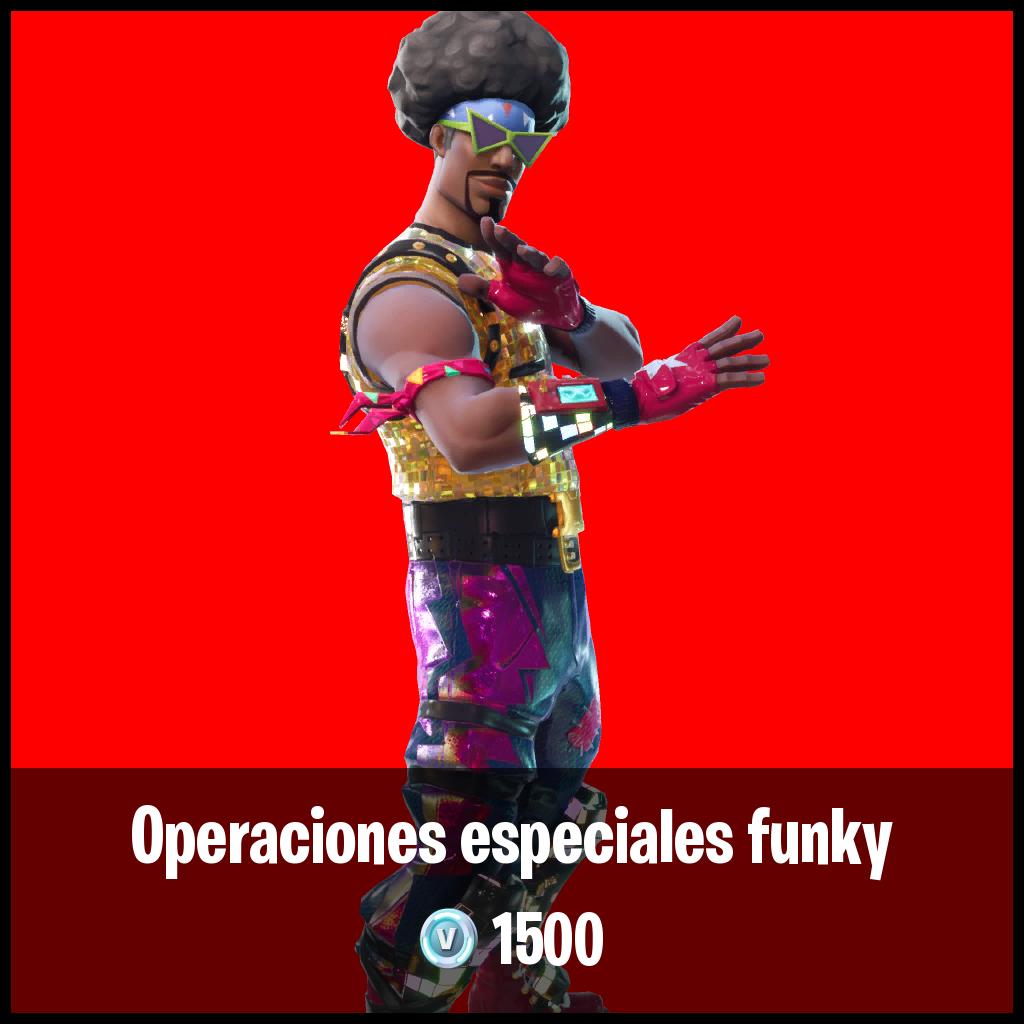 Operaciones especiales funky