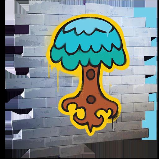 Fortnite Mighty Tree spray