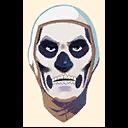 Fortnite Skull Trooper emoji