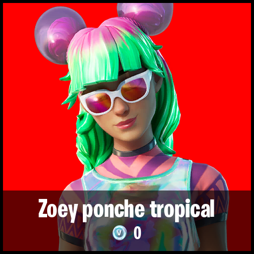 Zoey ponche tropical
