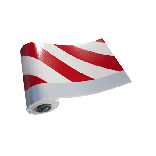 Fortnite Candy Cane wrap