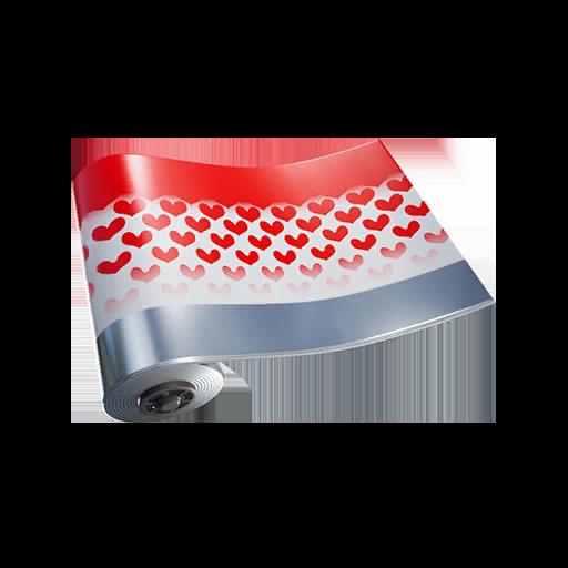Fortnite Hearts wrap