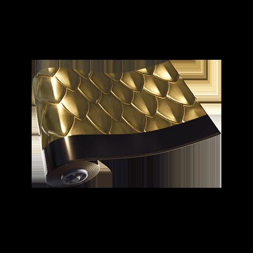 Fortnite Golden Scales wrap