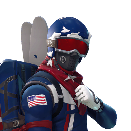 Fortnite Alpine Ace (USA) outfit