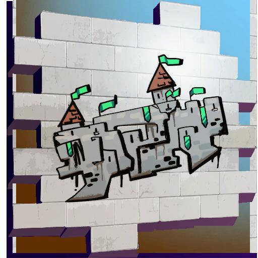 Fortnite Crazy Castle spray