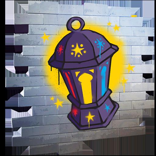 Fortnite Lantern spray