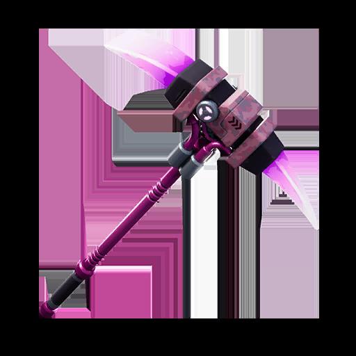Fortnite Rose Glow pickaxe