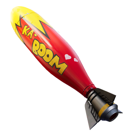 Fortnite Bombs Away! glider
