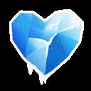 Fortnite Icy Heart emoji