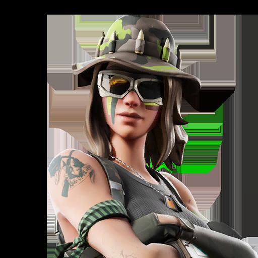 Fortnite Swamp Stalker outfit