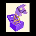 Fortnite Llama Surprise emoji