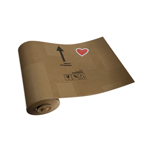 Fortnite Crafted Cardboard wrap