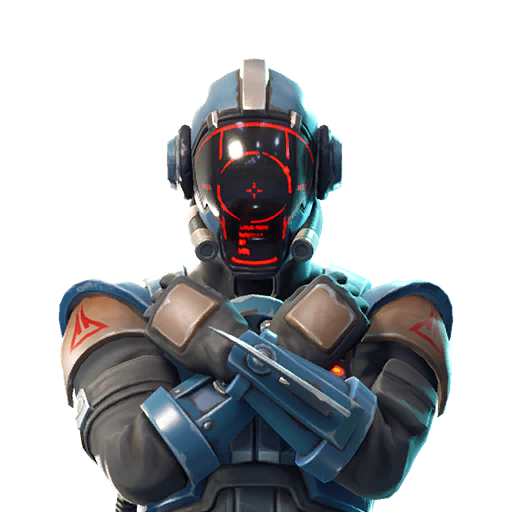 Fortnite The Visitor outfit