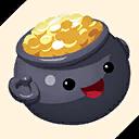Fortnite Pot of Gold emoji