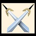 Fortnite Cross Swords emoji