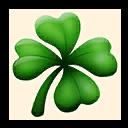 Fortnite Four-leaf Clover emoji