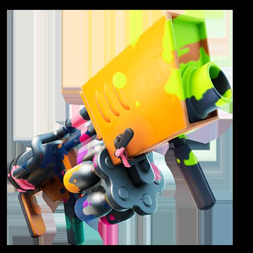 Orange Paint Launcher